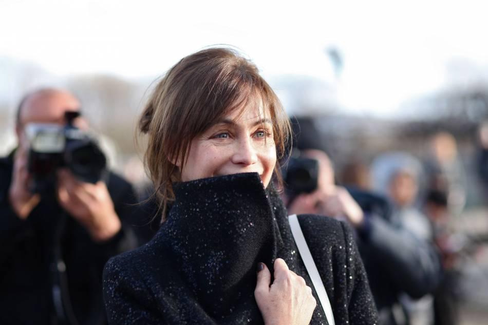 Emmanuelle Béart, toujours très naturelle sur le réseau social.