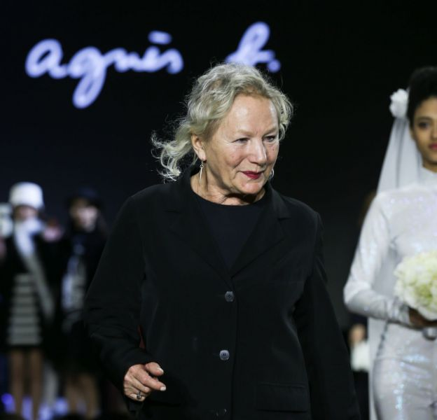 Agnès b. a dû voler dans un grand magasin pour habiller ses enfants.