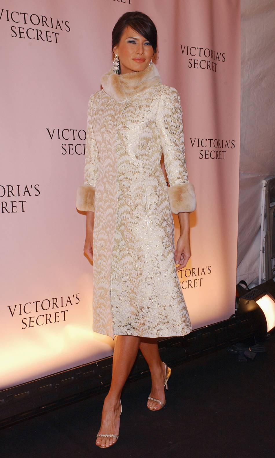 Melania Trump, un ex-mannequin et une possible Première dame très bling-bling.