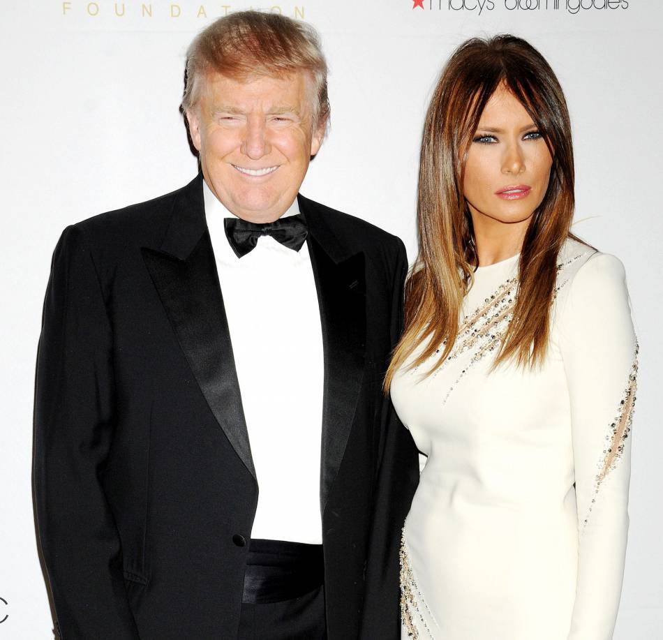 Malgré leur 24 ans d'écart, Donald et Melania Trump filent le parfait amour. Le bling-bling, ciment de leur couple ?