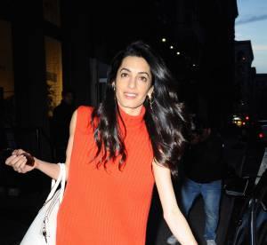 Amal Clooney : look flower power et gros diamant, l'avocate se lâche