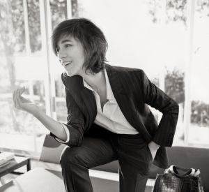 Avec Gérard Darel, Charlotte Gainsbourg fait une collaboration d'exception.