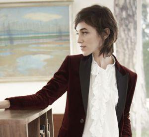 Charlotte Gainsbourg : l'élégance en cheveux courts pour Gérard Darel