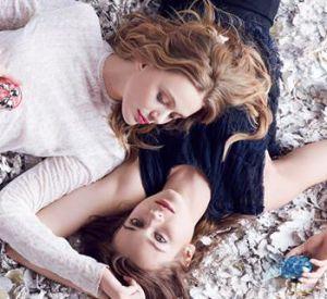 """Les BFF Frida Gustavsson et Jac Jagaciak sont les égéries de """"Nina"""" et """"Luna""""."""