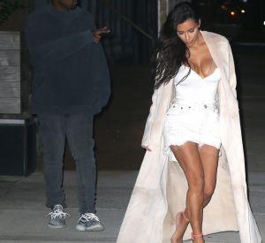 Kim Kardashian affiche fièrement sa silhouette sculptée.