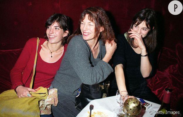 Charlotte Gainsbourg, Lou Doillon et Jane Birkin réunies.
