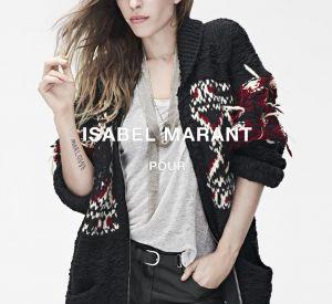 Lou Doillon a été l'égérie de la collab' entre Isabel Marant et H&M