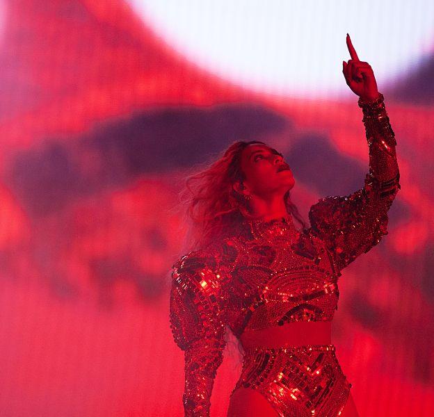 """Beyoncé, lors de son """"Formation World Tour""""."""