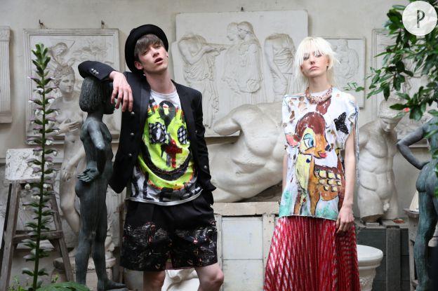 Punk et libre, une collection hautement arty.