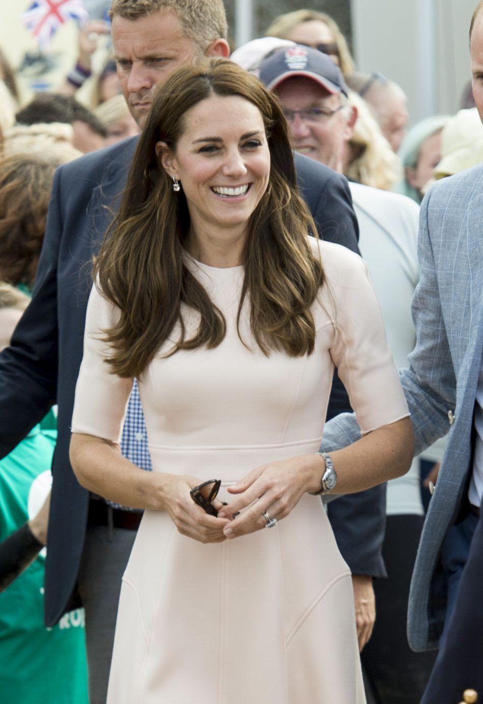 Kate Middleton fait sa première apparition de septembre.
