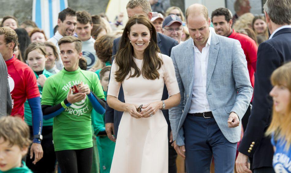 Kate Middleton habillée une nouvelle fois en Lela Rose.