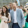 Kate Middleton et le prince William très complices.
