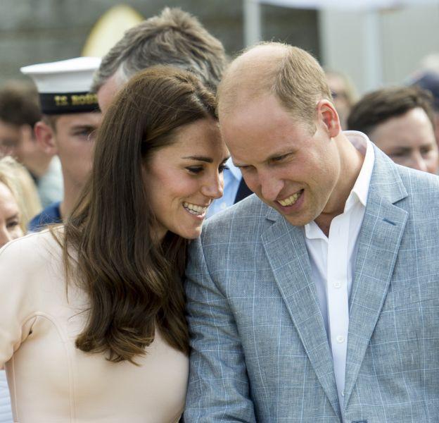 Kate Middleton et le prince William le 1er septembre 2016 à Newquay.