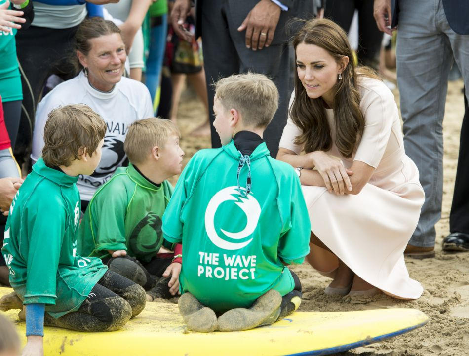 Kate Middleton les fait tous craquer.