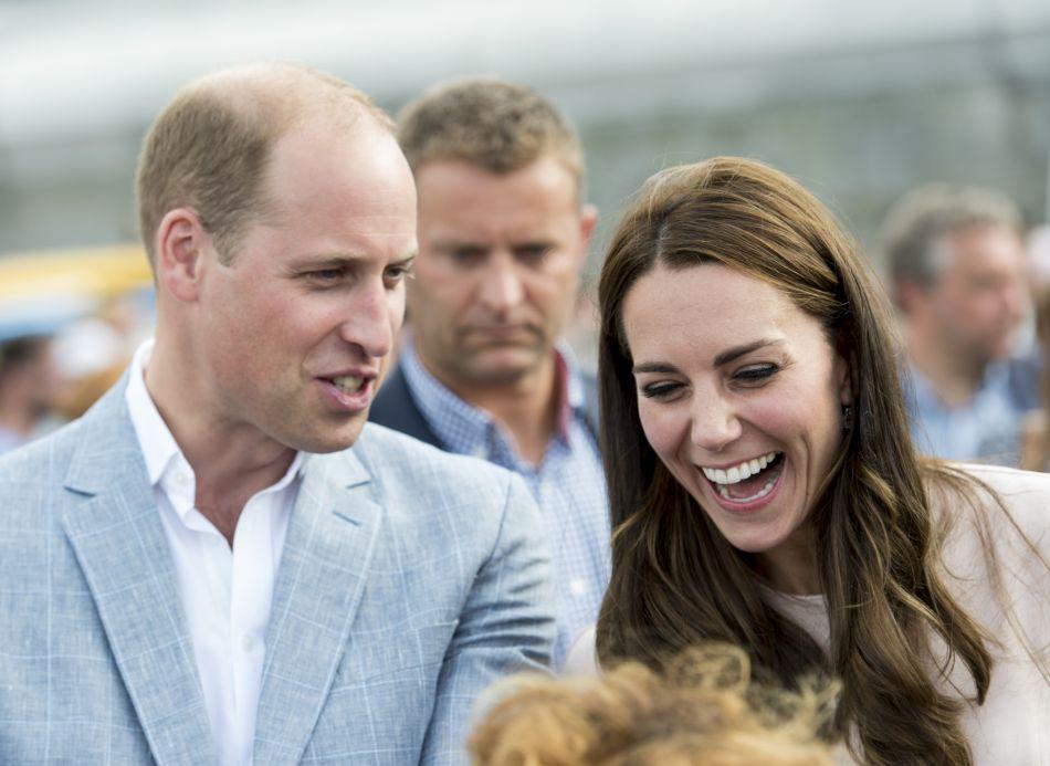 Kate Middleton, une duchesse toujours prête à rire.