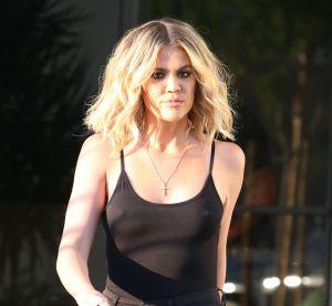 Khloe Kardashian : maillot de bain rouge et échancré pour sa nouvelle target