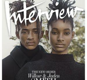 Willow et Jaden Smith, le duo fait la couverture de Interview Magazine.