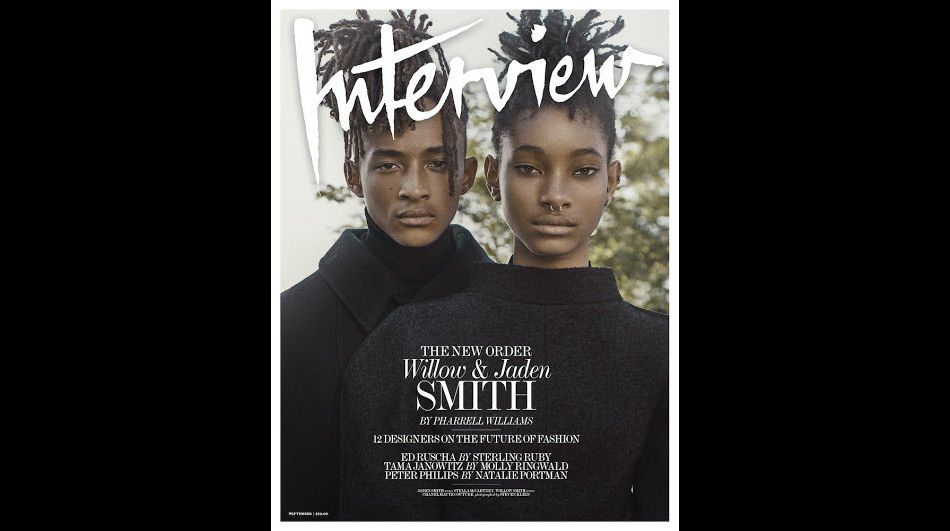 Willow et Jaden Smith, le duo fait la couverture de  Interview Magazine .
