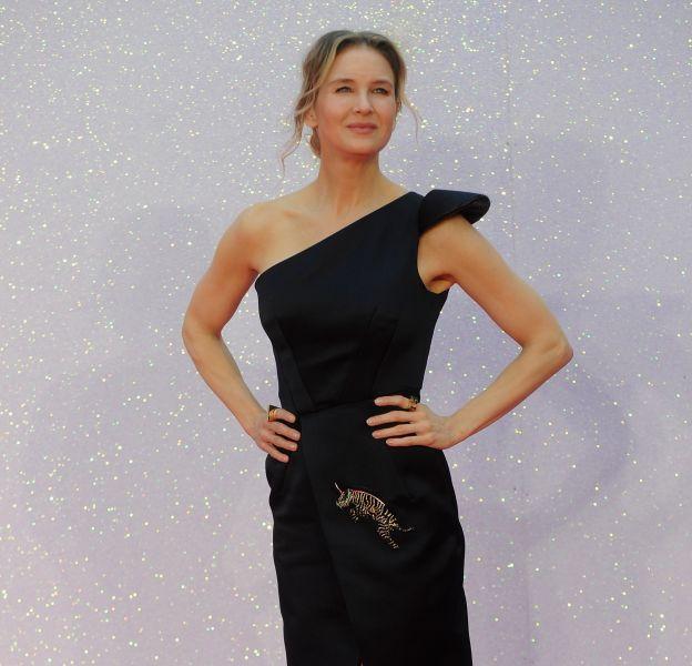"""Renée Zellweger lors de la première de """"Bridget Jones Baby"""" à Londres le 5 septembre 2016."""