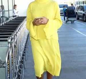 Solange à l'aéroport de Los Angeles.