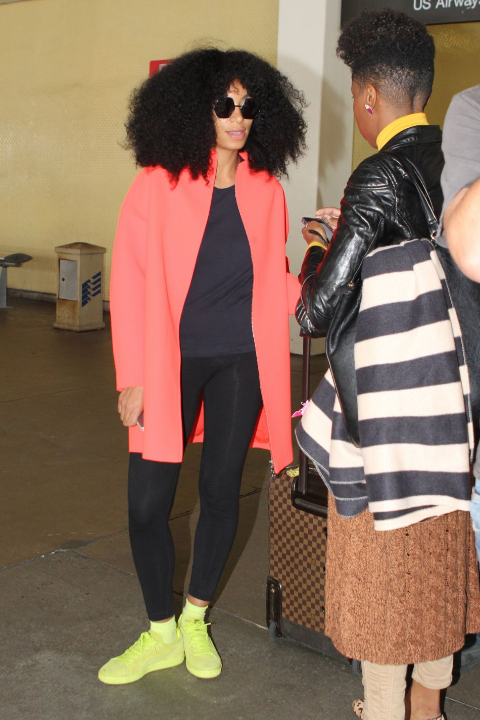Solange Knowles à Los Angeles.