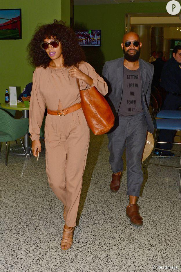 Solange Knowles et son mari Alan Ferguson.