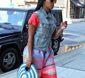 Solange Knowles dans les rues de New York.
