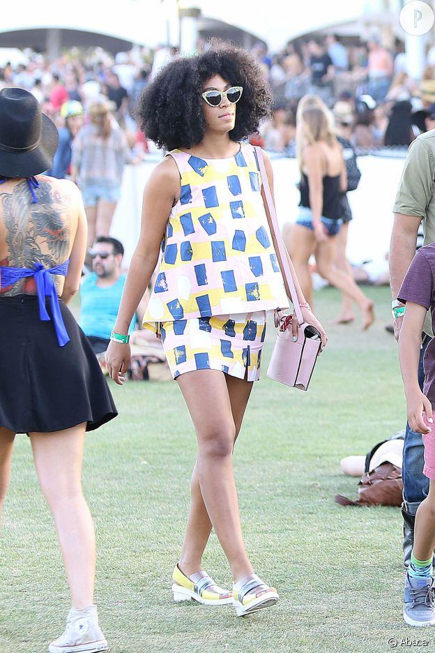 Solange, reine de Coachella.