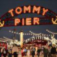Un aperçu du concept mis en place autour du défilé Tommy Hilfiger ce 9 septembre 2016.