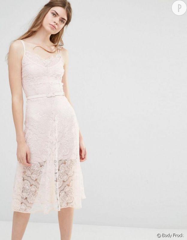 Robe de mariée : quand le rose simpose le jour J