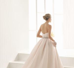 Robe de mariée : quand le rose s'impose le jour J