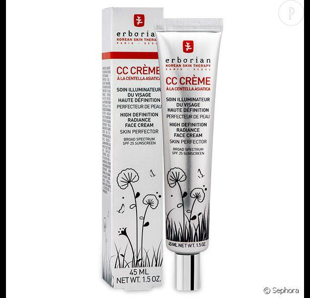 CC Crème, Erborian chez Sephora, 17€.