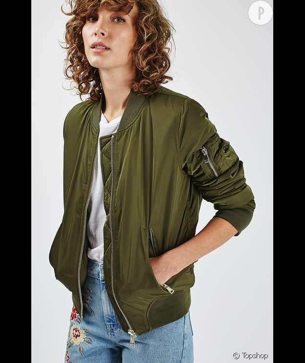 bomber, Topshop, 52€.