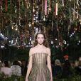 L'art du plissé est parfaitement maitrisé sur le show Dior.