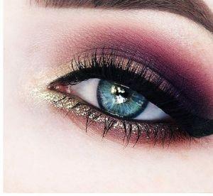 5 fards/palettes bordeaux pour sublimer les yeux bleus