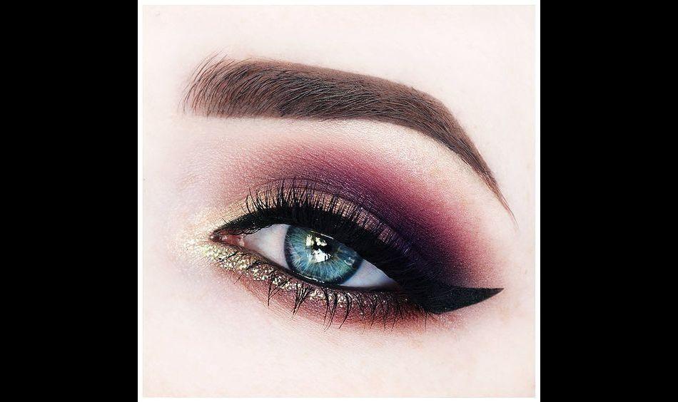 Quelque chose de nouveau assez 5 fards/palettes bordeaux pour sublimer les yeux bleus - Puretrend #IW_31