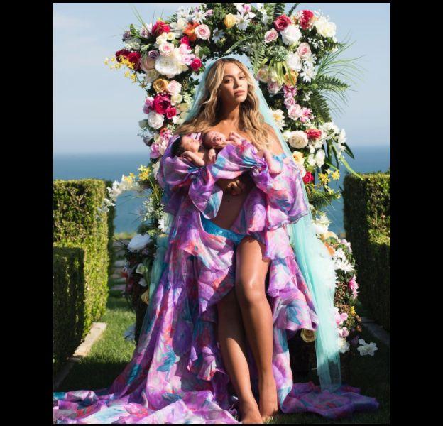 Beyoncé a annoncé la naissance de ses jumeaux sur Instagram