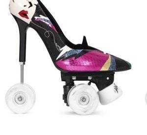 WTF fashion : les rollers-escarpins signés Saint Laurent