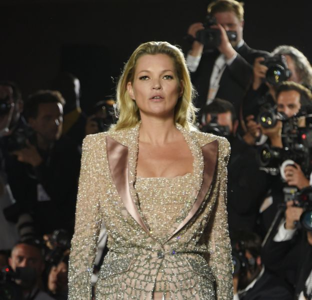 Kate Moss lance son kit de maquillage.