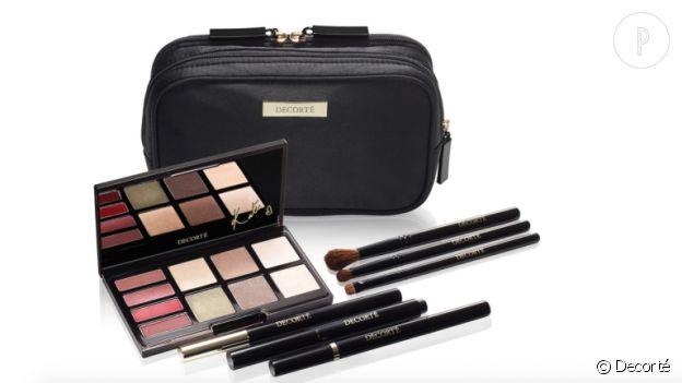 Le kit Kate Moss pour Decorté, disponible chez Saks à New York.