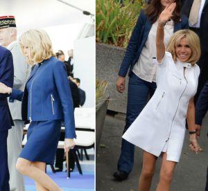 Brigitte Macron toutes jambes dehors, le best of