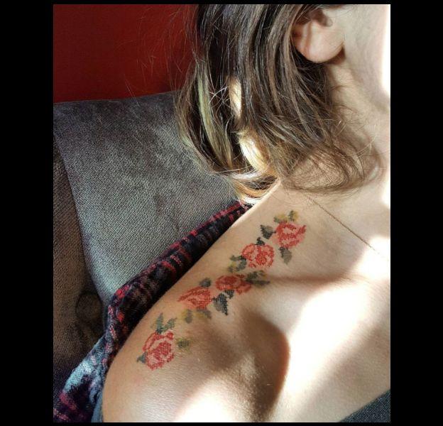 La folie du tatouage broderie !