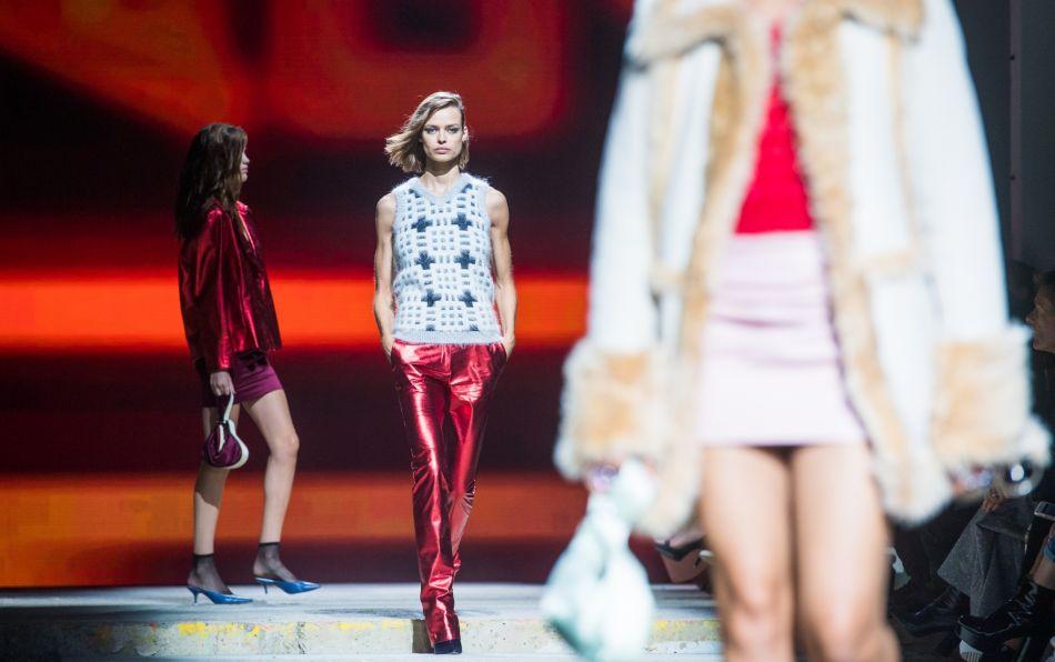Le show Topshop, l'événement de la Fashion week londonienne.