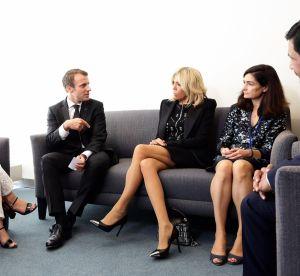 Brigitte Macron dévoile ses jambes, la Toile hurle au scandale