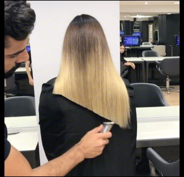 Cette vidéo d'un coiffeur turc en train de réaliser un lob (ou carré long) fascine Instagram.