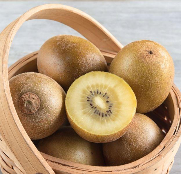 Les bienfaits du kiwi jaune.
