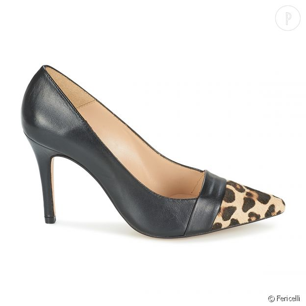 Escarpins léopard Fericelli.