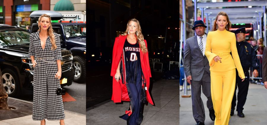 Blake Lively et sa tournée de looks parfaits : son come back mode ?