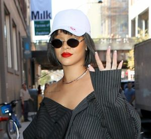 Rihanna : ses chaussures totalement improbables dans les rues de New York