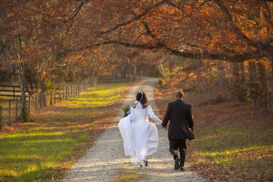 Pourquoi se marier en automne est une bonne idée